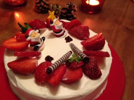 お菓子教室calmo クリスマスケーキ