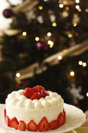 お菓子教室calmo 12月のケーキ