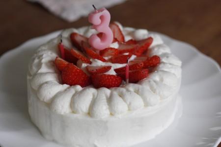 バースデーケーキに!