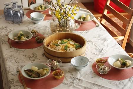 料理教室calmo 春の祝い膳
