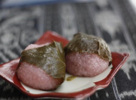 関西風 桜餅