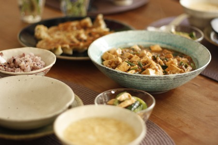 ビリリと辛い麻婆豆腐など