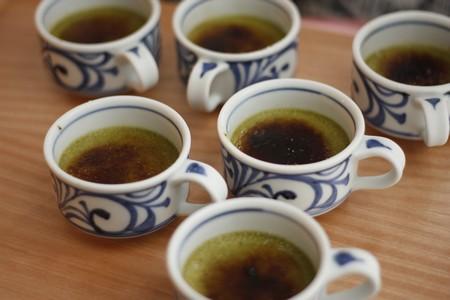 抹茶ブリュレ