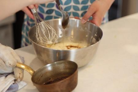 フィナンシェの決め手 焦がしバター