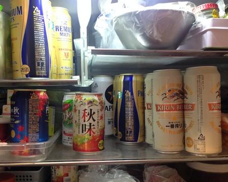 おいしいビール、冷えています