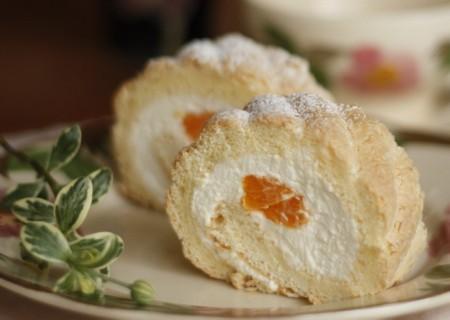 オレンジとレモンのサマーロール