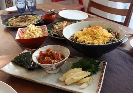 韓国料理って目にも楽しいな~