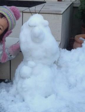 雪だるまつくろ~